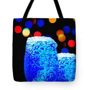 Celebrations With Blue Lagon Tote Bag