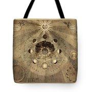Celestial Map 1710b Tote Bag