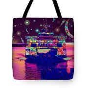 Celestial Sailing Tote Bag