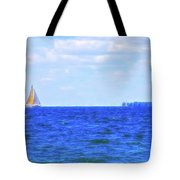 Celestial Skies Sailing The Blue Tote Bag