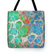Cell Abstract 10 Tote Bag
