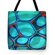 Cell Abstract 6a Tote Bag
