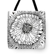 Cell Tote Bag