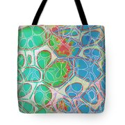 Cells 11 - Abstract Painting  Tote Bag