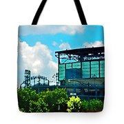 Cellular Field Tote Bag