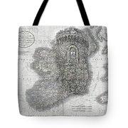 Celtic Castle Tote Bag