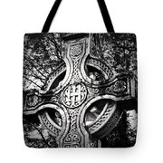 Celtic Cross Detail Killarney Ireland Tote Bag