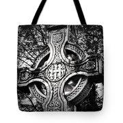Celtic Cross Detail Killarney Ireland Tote Bag by Teresa Mucha