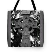 Celtic Cross In Emmet Park Tote Bag