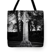 Celtic Cross In Killarney Ireland Tote Bag