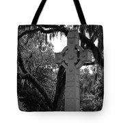 Celtic Cross Tote Bag by Melody Jones