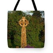 Celtic Cross St Davids Church Tote Bag