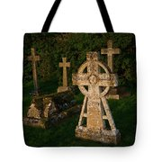 Celtic Cross St Divids Church 3 Tote Bag