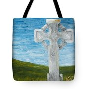 Celtic High Cross Tote Bag