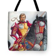 Celtic Iron Man Tote Bag