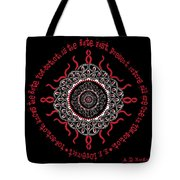 Celtic Lovecraftian Cosmic Monster Deity Tote Bag