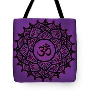 Celtic Tribal Crown Chakra Tote Bag