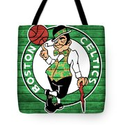 Celtics Barn Door Tote Bag