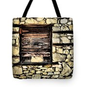 Cement Factory Window Tote Bag
