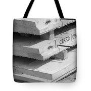 Cement Floors Tote Bag