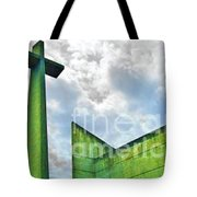 Cement Worship Tote Bag