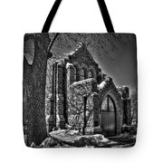 Cemetary Chaple Tote Bag