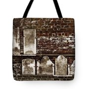 Cemetary Wall Tote Bag