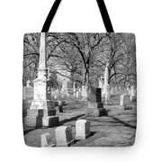 Cemetery 3 Tote Bag