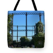 Cemetery And Gas Works Tote Bag