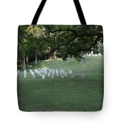 Cemetery At Shiloh National Military Park In Tennessee Tote Bag