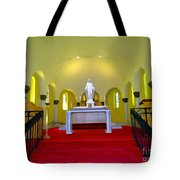 Cemetery Chapel Tote Bag