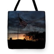 Cemetery Flag 1  Tote Bag