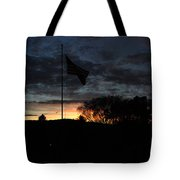 Cemetery Flag 2 Tote Bag