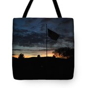 Cemetery Flag 3 Tote Bag
