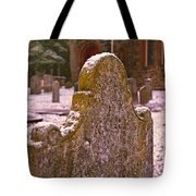 Cemetery Headstone  Tote Bag