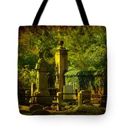 Cemetery In Charleston Tote Bag