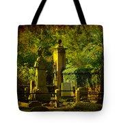 Cemetery In Charleston Tote Bag