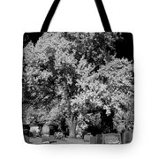 Cemetery Infrared Tote Bag