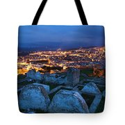 Cemetery Overlooking Fes, Morocco Tote Bag