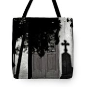 Cemetery Shadow Tote Bag