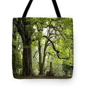 Cemetery  Trees 1 Tote Bag