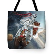 Centaur Joust Tote Bag