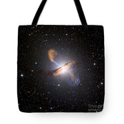 Centaurus A Black Hole Tote Bag