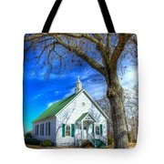Centennial Christian Church Rural Greene County Georgia Tote Bag