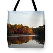 Centennial Lake Autumn - Fall Dressing Tote Bag
