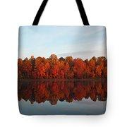 Centennial Lake Autumn - In Full Autumn Bloom Tote Bag