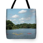 Centennial Lake Kayaks Tote Bag