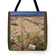 Center Divider - Hwy 395 Tote Bag