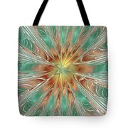Center Hot Energetic Explosion Tote Bag