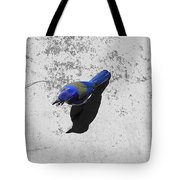 Center Of Attention- Scrub Jay Tote Bag